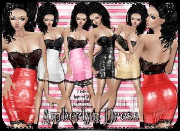 Amberlynn Dress PNG Edition