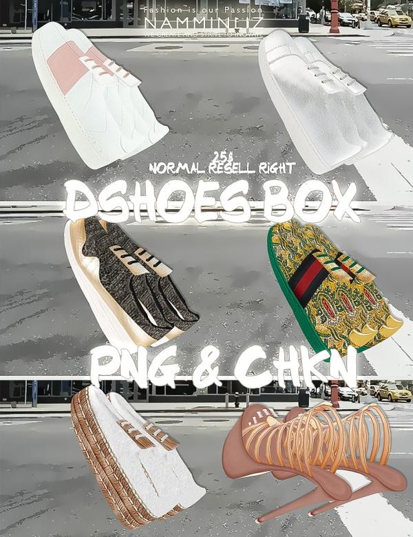 DshoesBox imvu 6 shoes PNG CHKN