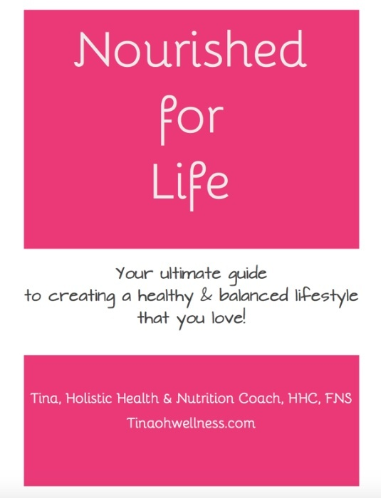 Nourished for Life e-book