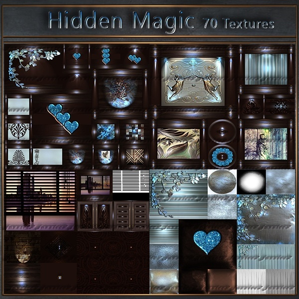 Hidden Magic 70 textures