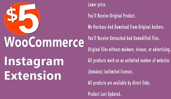 WooCommerce Instagram 1.0.15 Extension