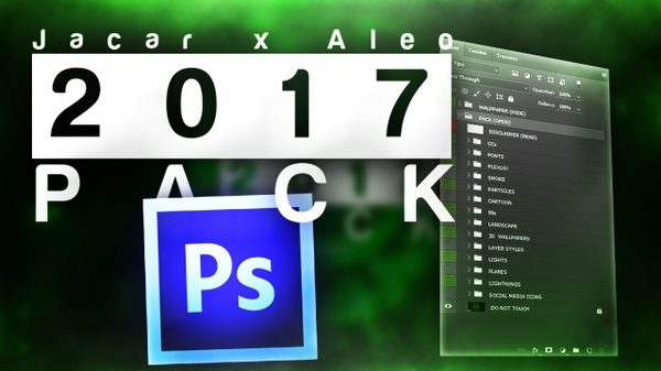 2017 GFX PACK By Aleo and Jacar !! THE BEST FREE GFX PACK!