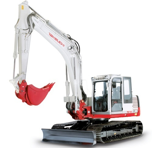 Takeuchi TB1140 Hydraulic Excavator Service Repair Workshop Manual Download(S/N:51400007 & Above)
