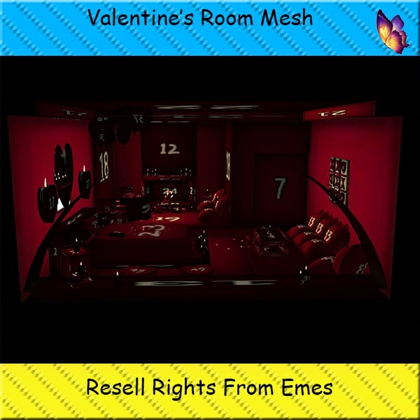 Valentine's Room Mesh Catty Only!!!