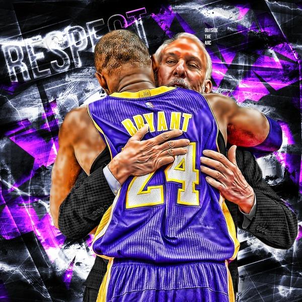 Kobe Bryant and POP PSD