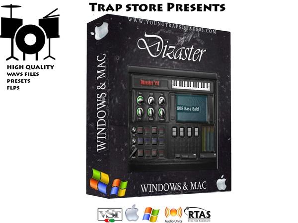 Trap Store Presents - Dizaster VST (Win & Mac)