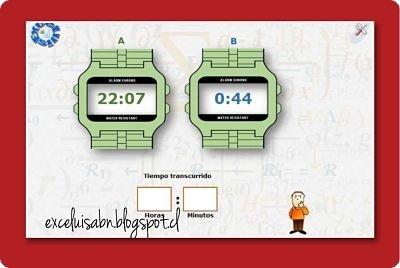 Calcular la diferencia de horas y minutos, versión 1.0.