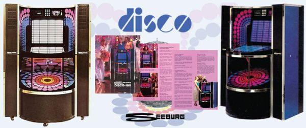 "Seeburg  SMC1 / ESMC1 ""Disco""  (1978)    Manuals & Brochure"