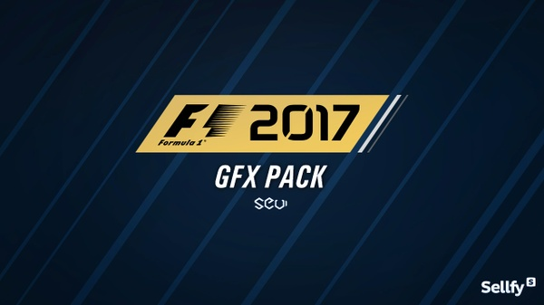 """F1 2017 """"StarterPack GFX"""" by SeviGraphics"""