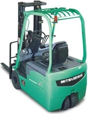 Mitsubishi Electric Forklift Truck FB16N, FB18N, FB20CN Workshop Service Manual