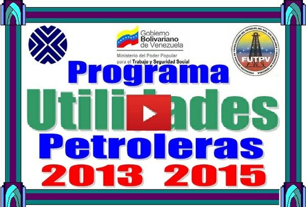 Utilidades Petroleras Cálculo Programa
