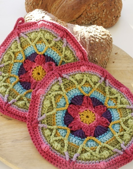 Boho Design PotHolders