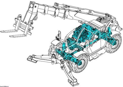 Fiat Kobelco T13 T14 T17 Telehandlers Service Repair Workshop Manual Download