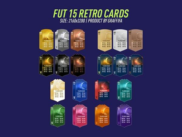 FUT 15 RETRO CARDS