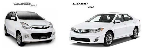 TOYOTA AVANZA 2012 & CAMRY 2013 WORKSHOP MANUAL