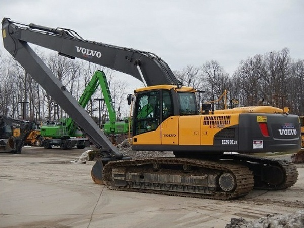 VOLVO EC290C LR (EC290CLR) EXCAVATOR SERVICE REPAIR MANUAL - DOWNLOAD