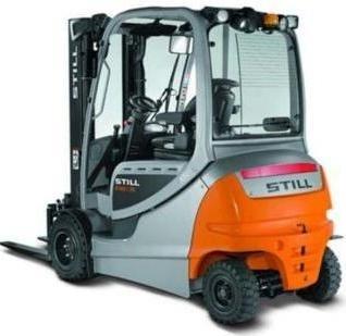Still Forklift Truck RX60-25,-30,-35: 6345, 6346, 6347, 6348, 6353, 6354, 6355, 6356 Parts Manual