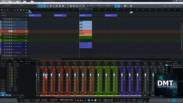 Studio One Template for your Dance Music Production