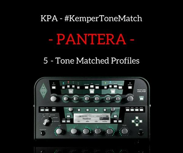 Kemper - Pantera Profiles (KPA)