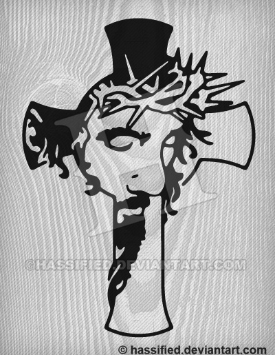 Jesus Cross - printable, vector, svg, art