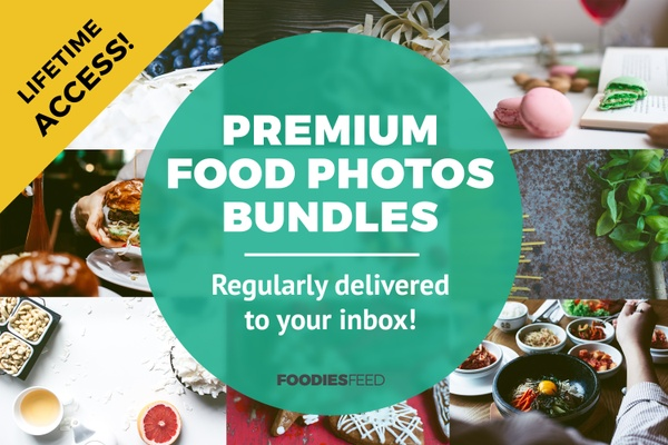 Premium Food Photos Bundles - Lifetime Access