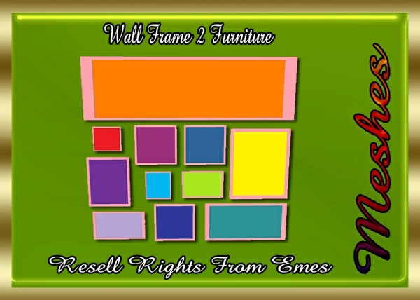 Wall Frames 2 Furniture Catty Only!!!