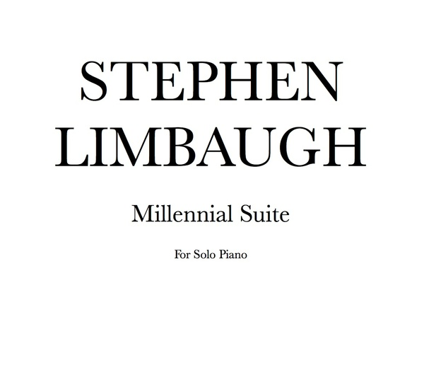 Millennial Suite for solo piano (Sheet Music)