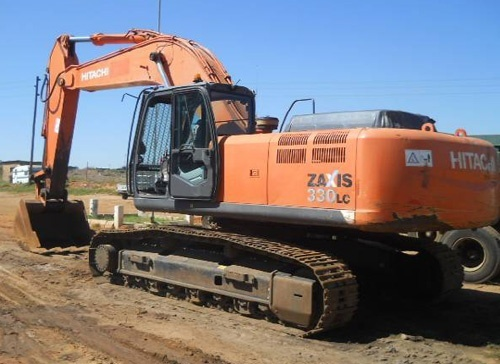 Hitachi ZAXIS(330-350)-3 Hydraulic Excavator Parts Catalog Download