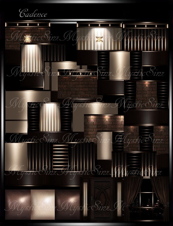 IMVU Textures Cadence Room Collection