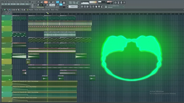 Future House/Bounce Drop FL STUDIO (FLP) (NEW SERIE) #11