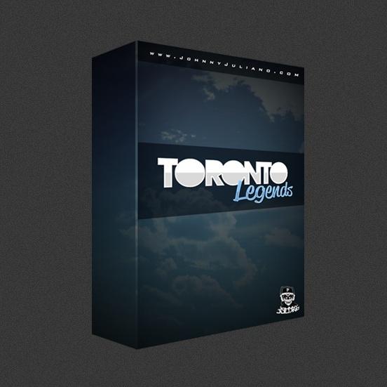 Johnny Juliano Toronto Legends Drum Kit