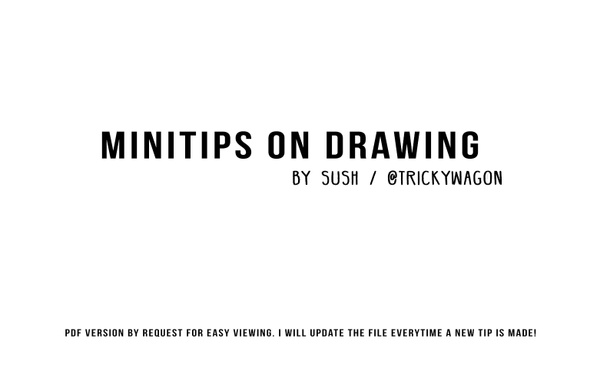 Minitips on Drawing