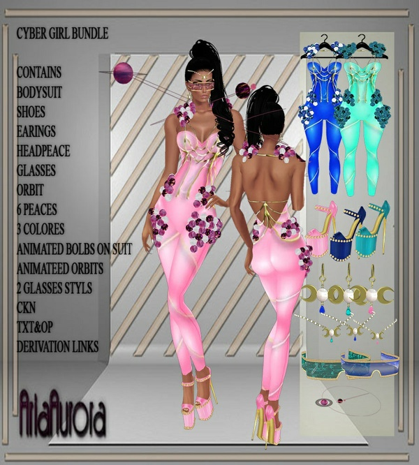 Cyber Girl Bundle NO Resell!!