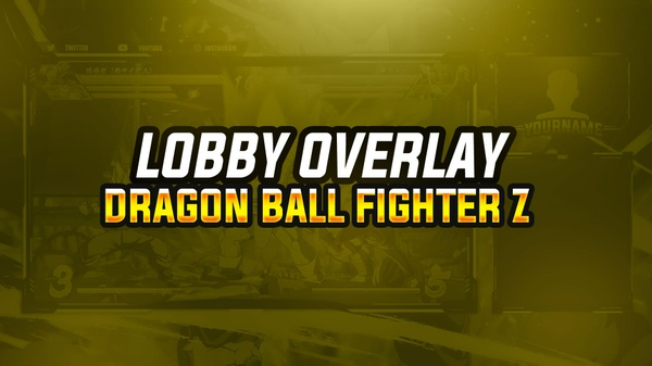 NEW LOBBY OVERLAY DE DRAGON BALL FIGHTER Z 2018 | BY EM DZN