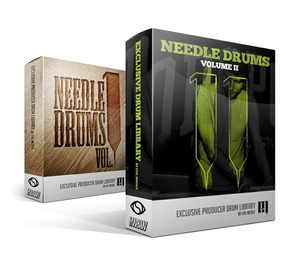 Evil Needle Drum Kit Bundle (vol. 1 & 2 )