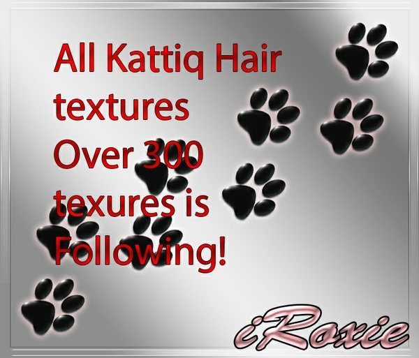 All Kattiq Hairs OVER 300 textures in this deal!