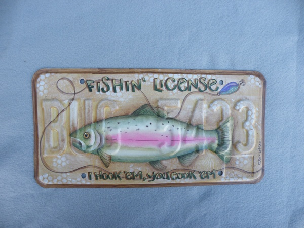e579 Fishin' License