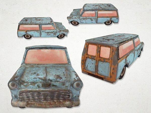 Toy Car 01 - 3D Model