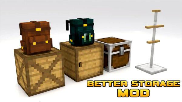 Better Storage Mod Pack