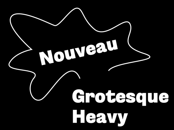 Nouveau Grotesque Heavy Desktop 1-3 User
