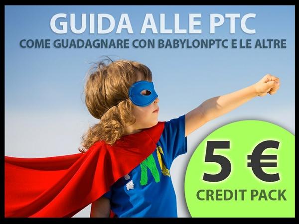 Babylonptc - 5 € di credito + e-book