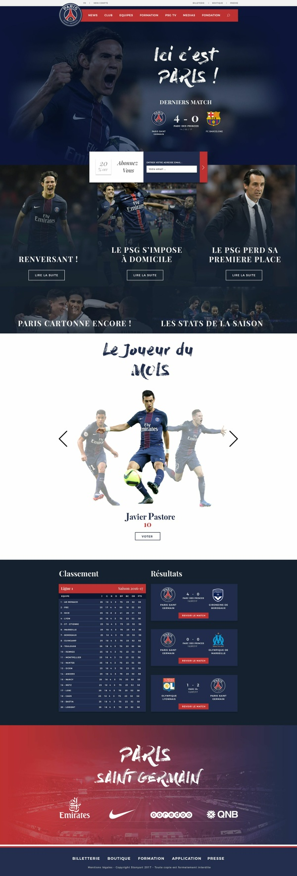 PSG Redesign Concept