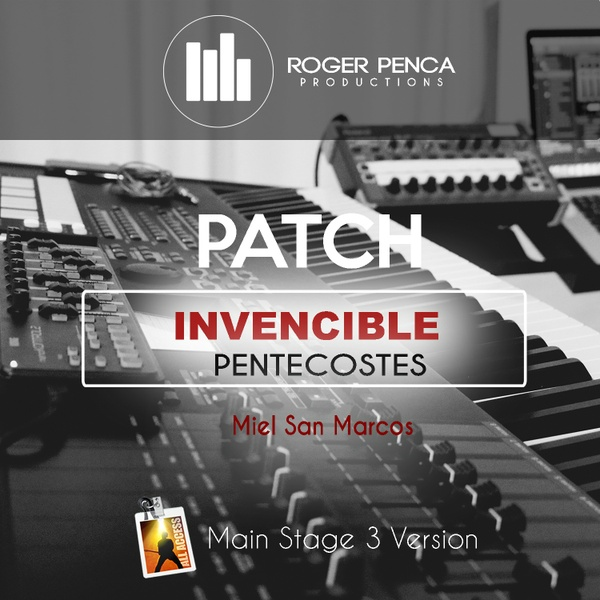 PATCH INVENCIBLE, PENTECOSTES | Miel San Marcos ( Main Stage 3 )