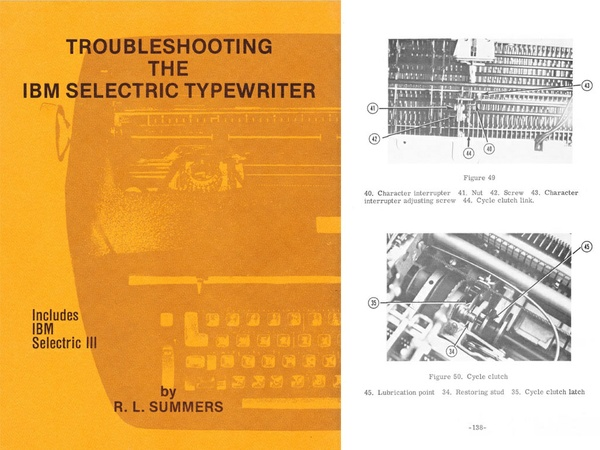 IBM Selectric Typewriter Troubleshooting
