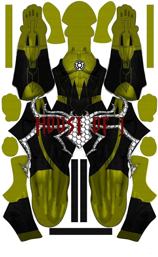"""Sinestro Lantern"" Pattern File"