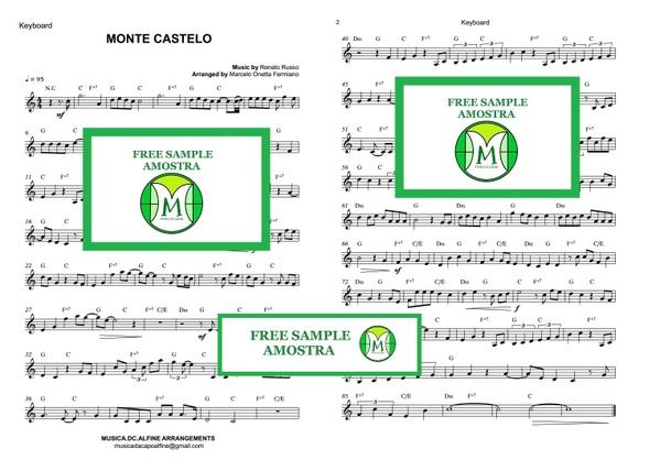 CIFRA - Monte Castelo - Legião Urbana - Teclado