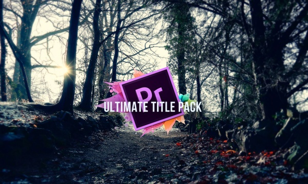 Adobe Premiere Pro CC ULTIMATE Title Pack (Holiday Special)