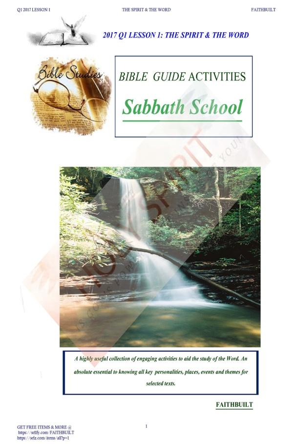 Q1 SABBATH STUDY GUIDE LESSON 1