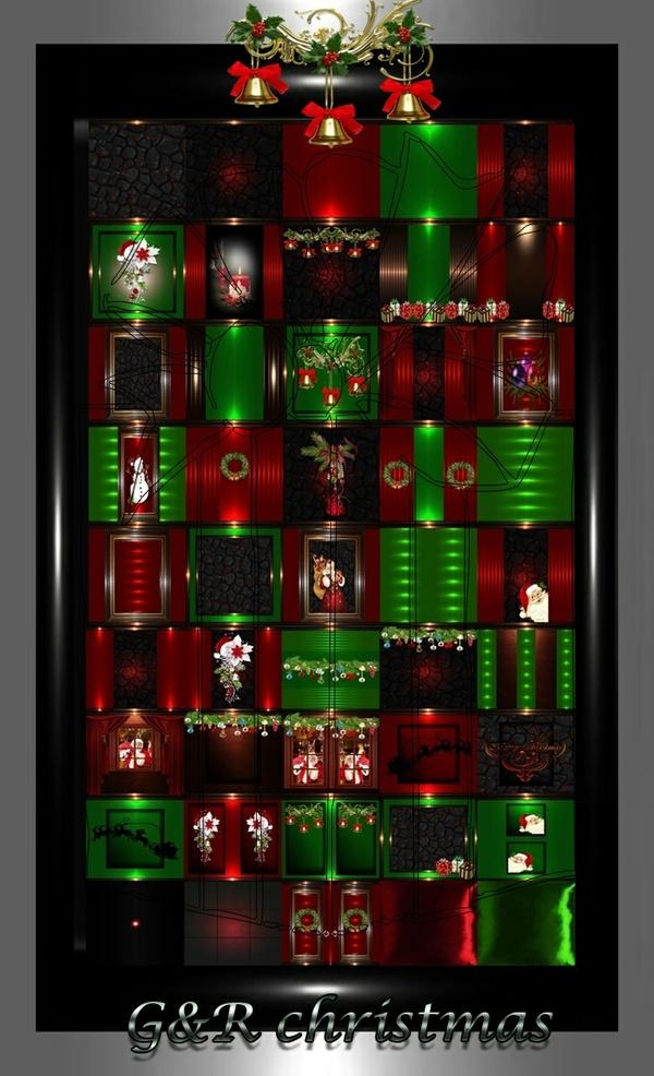 G&R christmas 45 textures