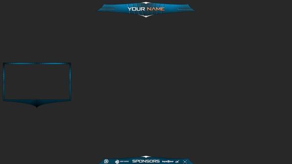 [eSports] Twitch Overlay - HD Cam